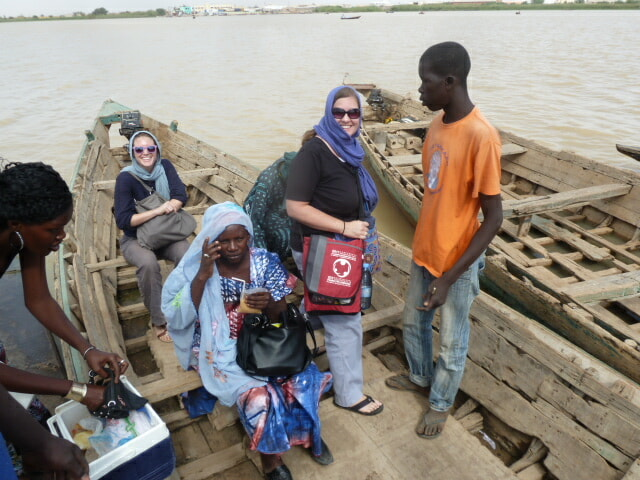 Crossing Senegal in pirogue