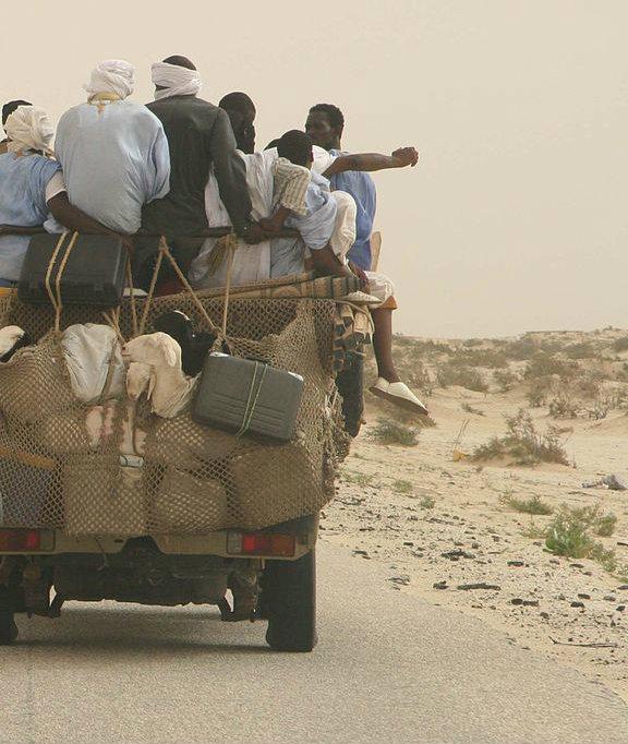 Road to Senegal river