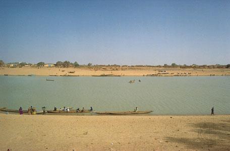 Senegal river at Kaedi