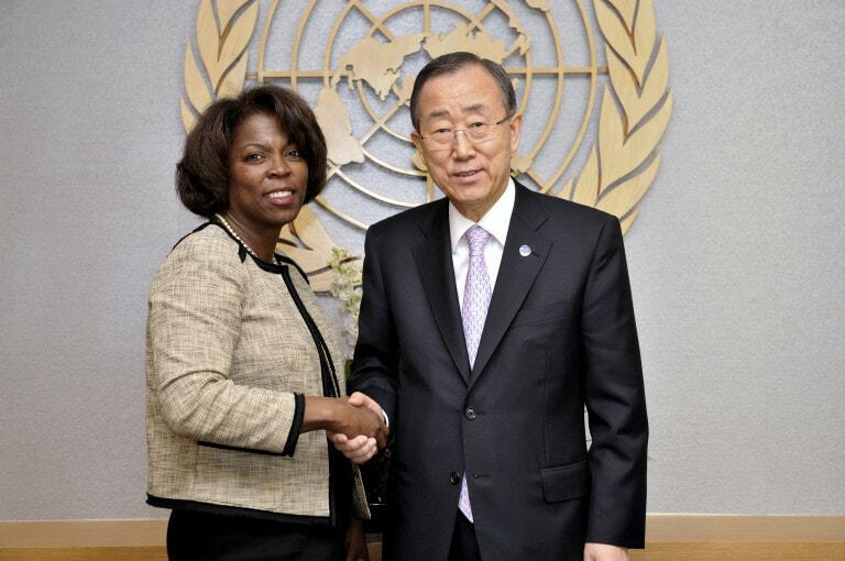 New WFP ED meets UNSG