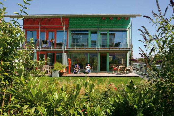 Solar - Stadt, Solarsiedlung, Barbara Schweer + Martin Hoyer , Solarschiff