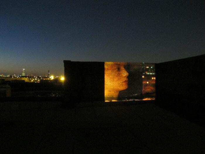 Valerio Rocco Orlando, Eva, 2010. Installation view, ISCP, New York