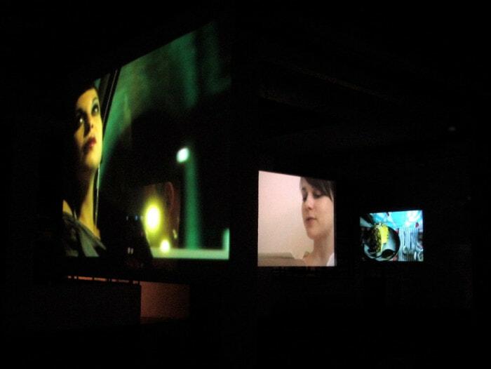 Valerio Rocco Orlando, The Sentimental Glance, 2007. Installation view, MAZE, Turin