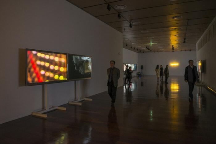 Valerio Rocco Orlando, The Sphere of the Between, 2015. Installation view, Korea Foundation, Seoul. Ph. Junho  Jang