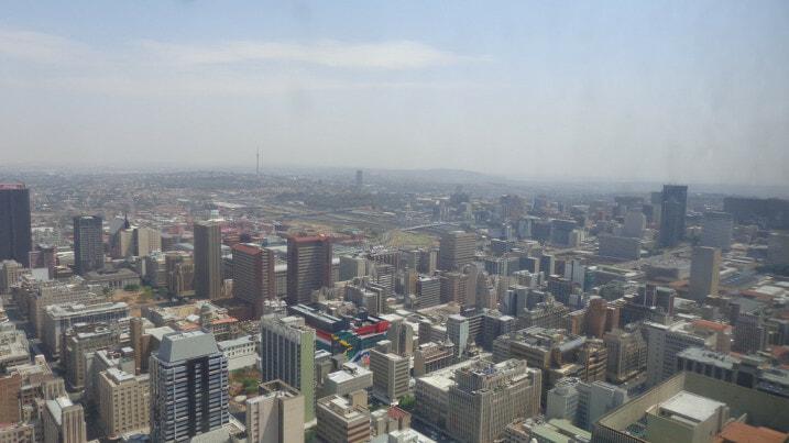 Energy crisis - Joburg Skyline
