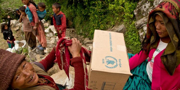 Nepal Earthquake Leaves Behind Devastation Nepal Ertharin Cousin, WFP