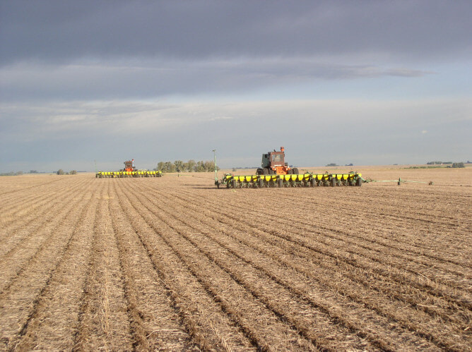 Water Born Soil Erosion, Conventional Tillage
