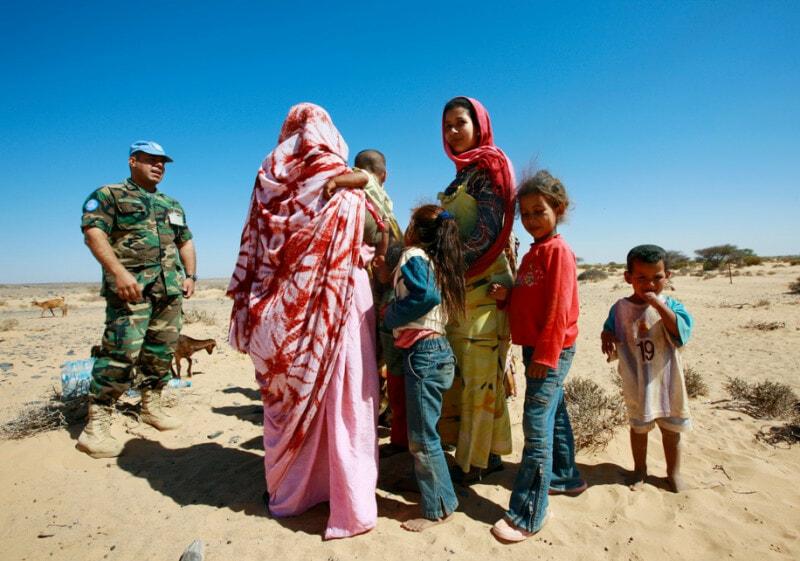Western Sahara playground
