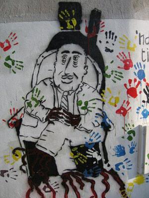 A mural in Riace, a protest against the N'dranghetta Rando_Calabre_024_copie-2a648