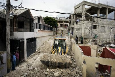 Haiti Earthquake UN1