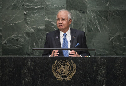 Prime Minister of Malaysia Addresses Summit on Sustainable Development
