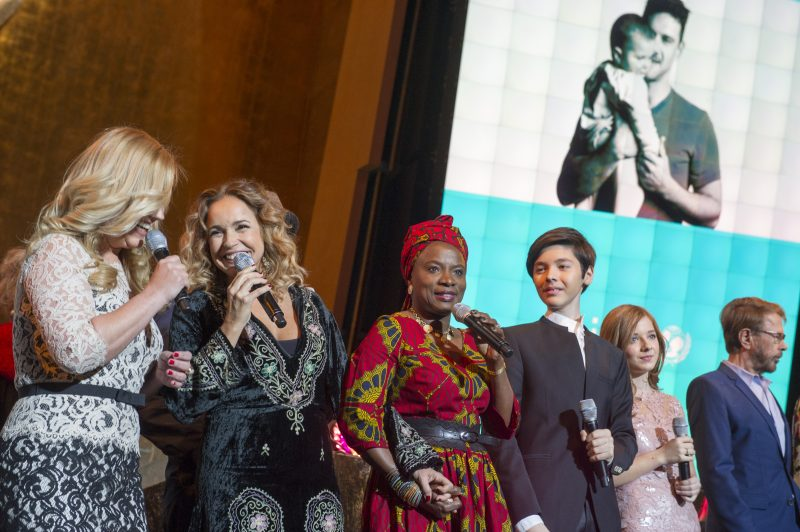 global launch of the UNICEF IMAGINE project