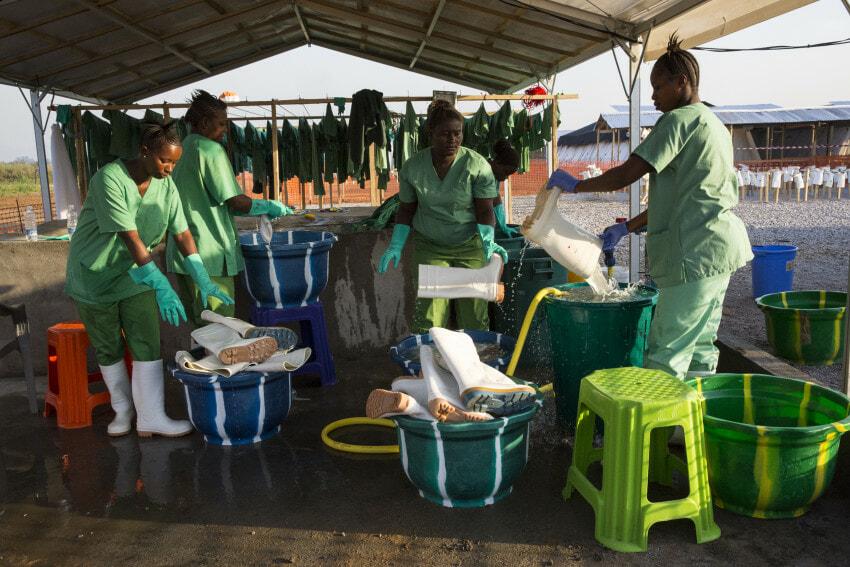 SRSG Banbury visit Treatment Center Sierra Leone Impakter