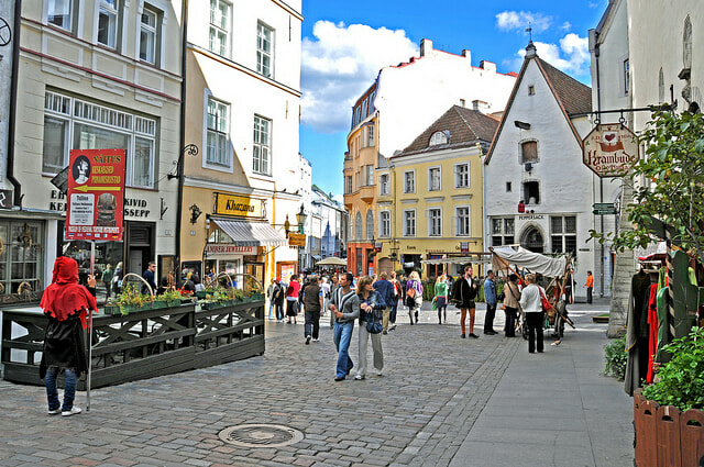Tallinn, Estonia. The Baltic nation was the first nation was forced to block all foreign telecommunications after a DDOS attack in 2007. Photo courtesy of Dennis J. via Flickr.