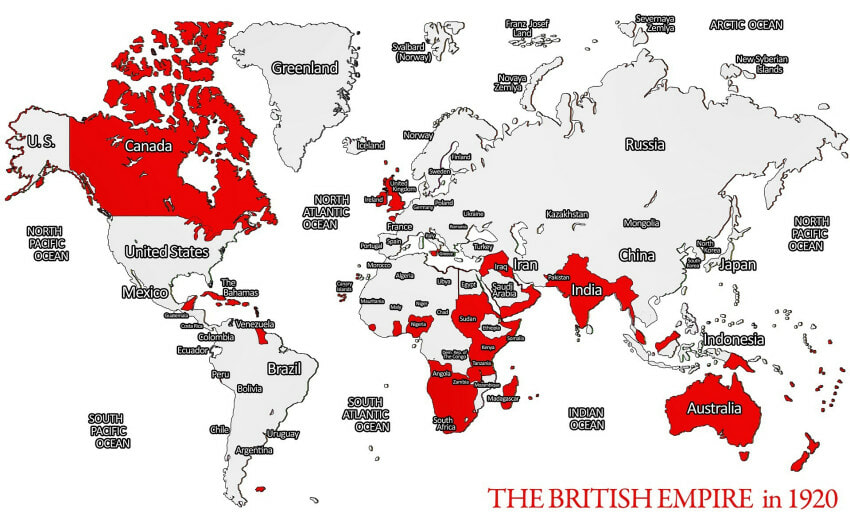 British Empire, Impakter