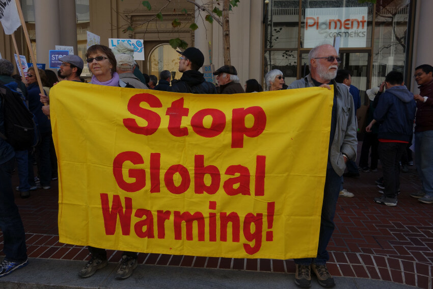 Protest-trump-climate change