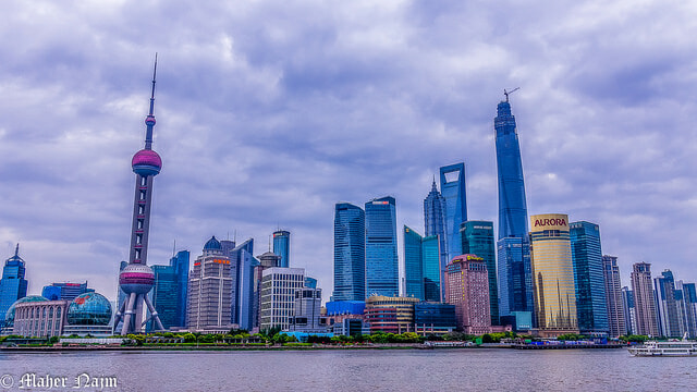 Shanghai, China. Duterte has threatened to cut ties with the West and embrace Chinese investors.