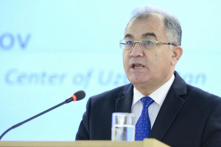 Akmal Saidov, Minister, Chairman of the National Human Rights Center of Uzbekistan