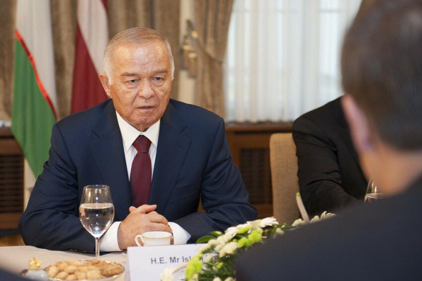 Islam Karimov - Akbar Abdullaev uncle