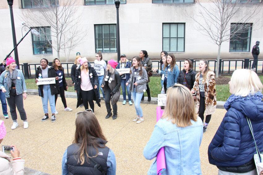 Women's March Photo by Liz Anne Hill