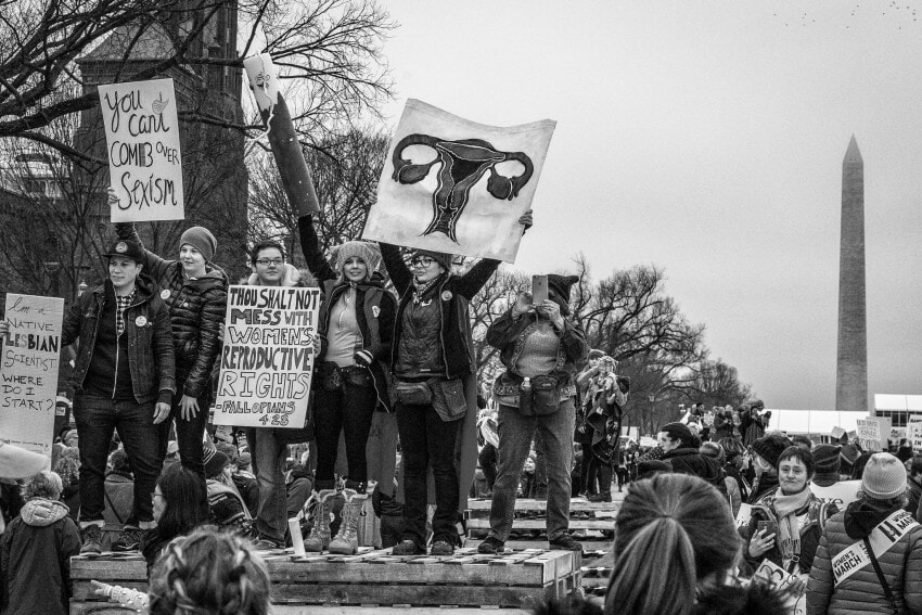 Women's March Photo by Mobilus in Mobili Flickr 2