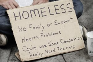 Homeless-individual