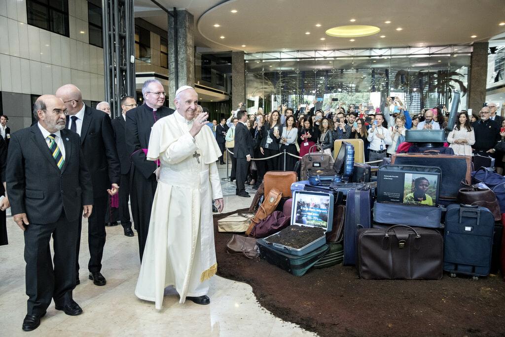 Pope Francis FAO
