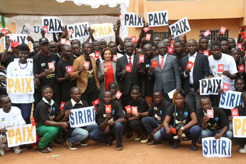 International day of peace in car