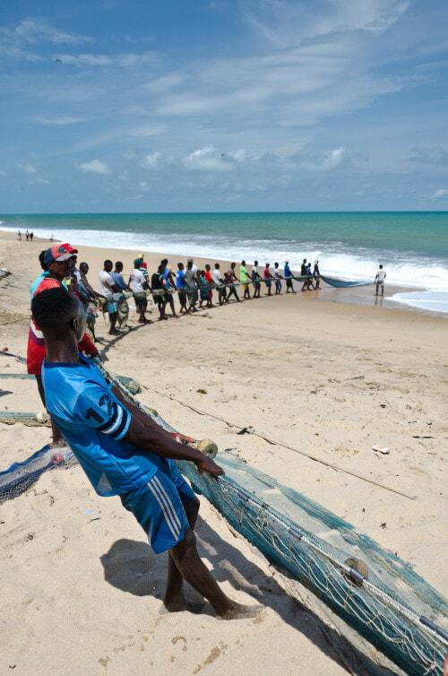 Ghana 2017 Beach seining