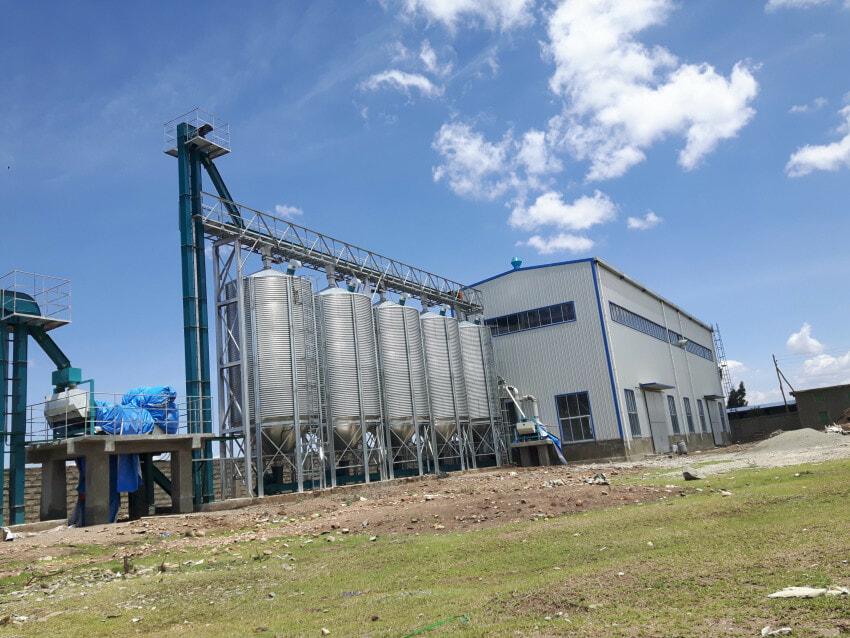 Raya Wakena cooperative grain processing plant Ethiopia