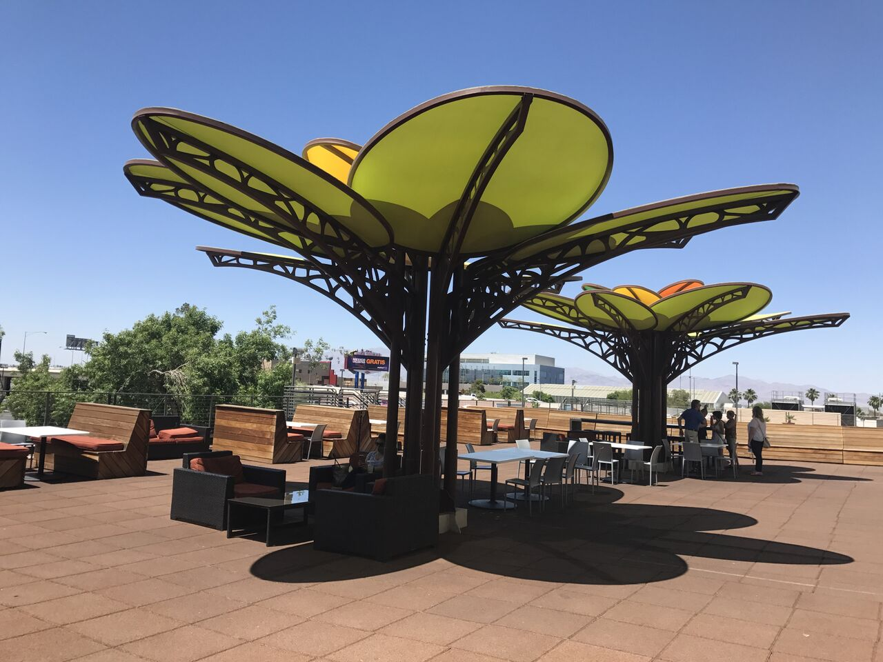 nature inspired shade structure