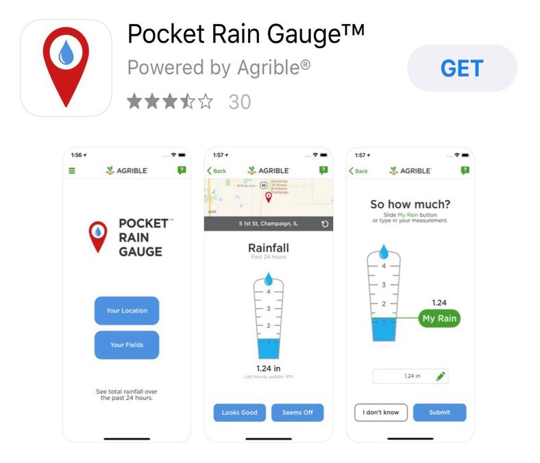 PocketRain Gauge App