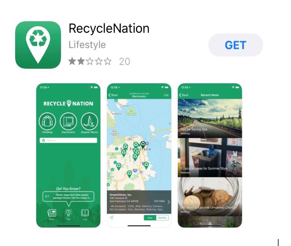 RecycleNation App