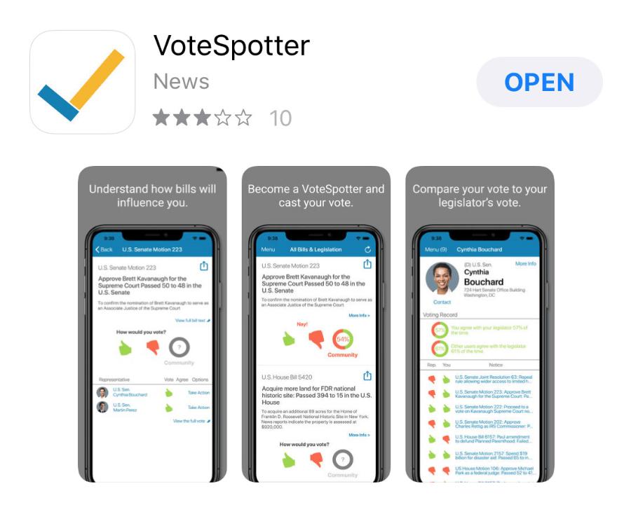VoteSpotter App