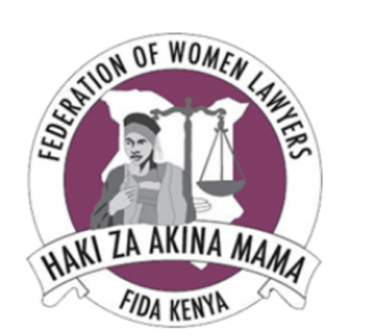 The symbol of the federation of women lawyers