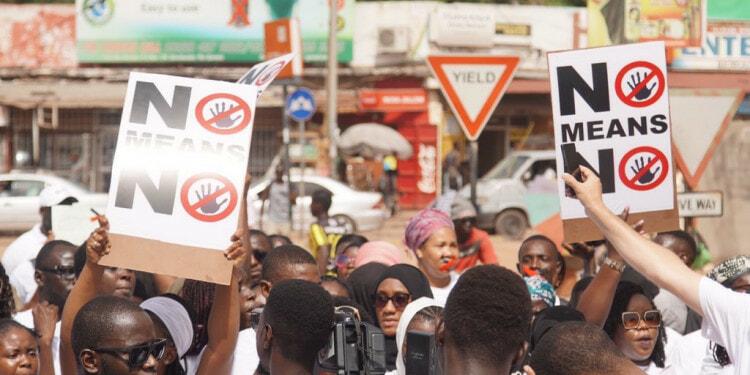 #IAmToufah Protestors