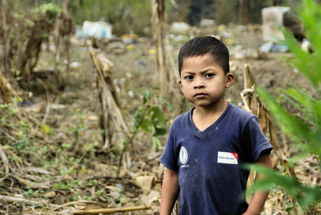 Rural guatemalan boy