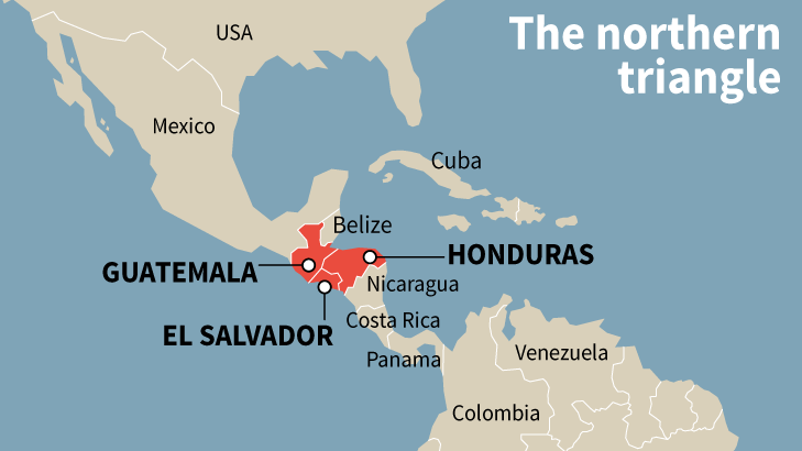 Central American Northern Triangle