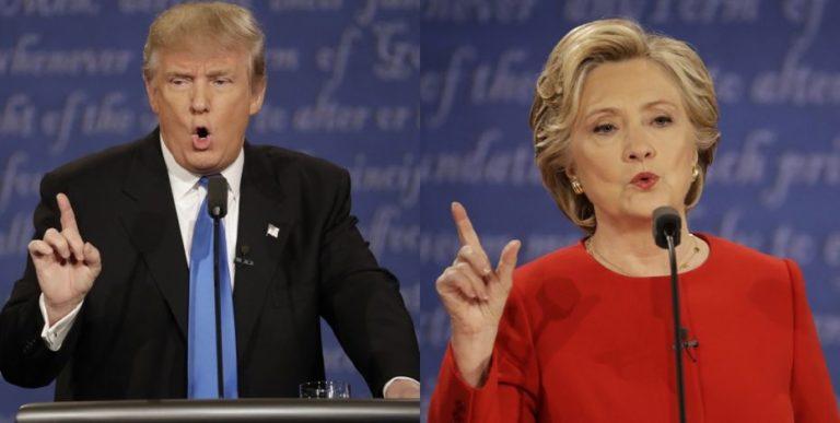 Clinton v Trump