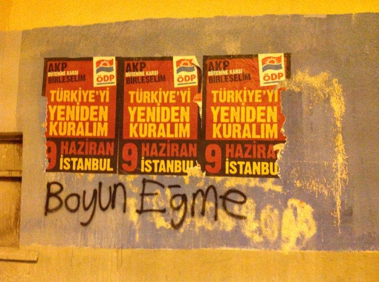 Women's Rights Support Graffiti