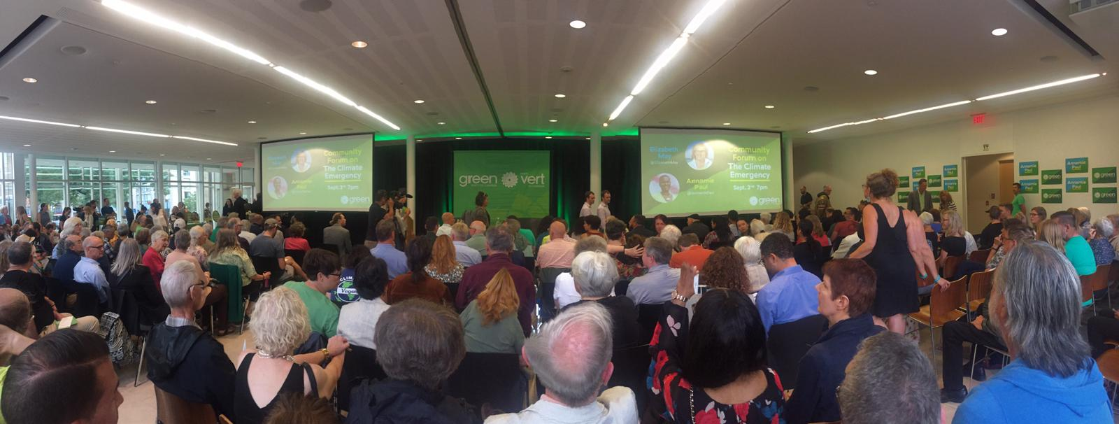 Climate Emgergency Forum hosted by TO Centre Greens