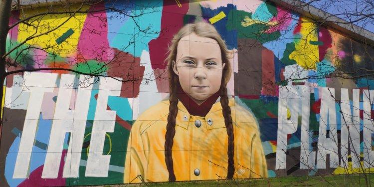 Greta Thunberg art