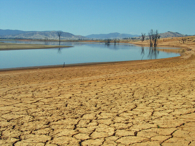 Australia's natural resources effected by climate change