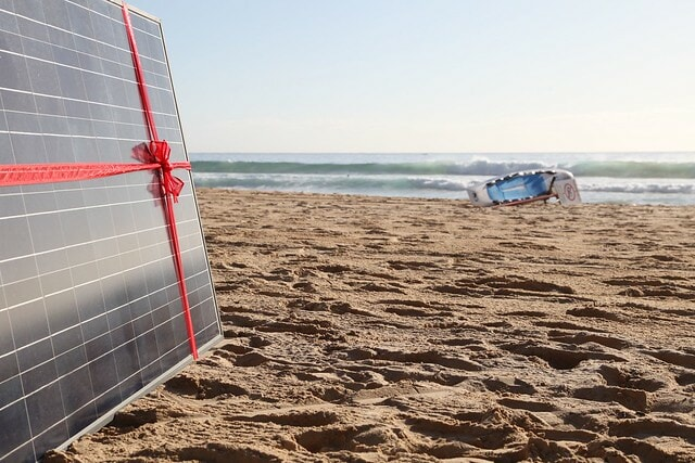 Solar Panel, Australia's commitment to fighting climate change