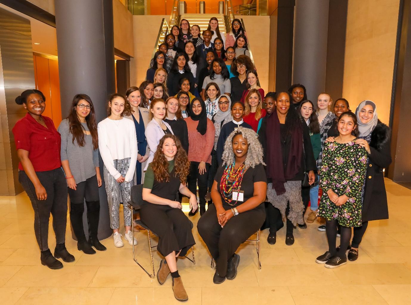 Students to STEMettes London Graduation 2019