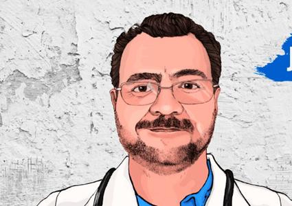 Drawing of José Alberto Marulanda
