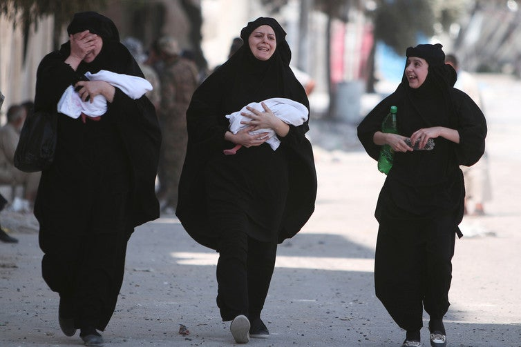 For young women and women of ethnic minorities in particular, escaping conflict does not necessarily bring safety. Credit: Reuters
