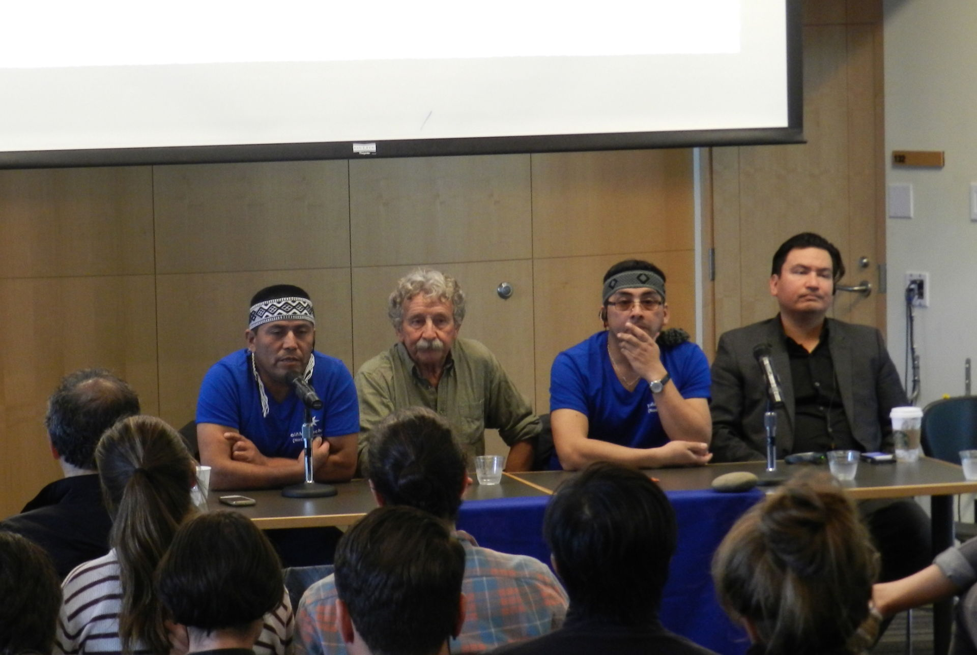 UBC workshop with Mapuche