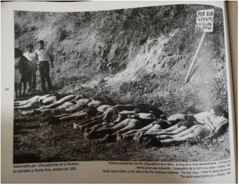 Victims of Death Squads, October 1980. Source: Equipo Maíz & Iván Montesinos (1993). No hay guerra que dure cien años… El Salvador 1979-1991. San Salvador: Equipo Maíz.