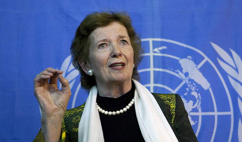 Mary Robinson UN High Commissioner for Human Rights